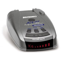 BEL RX65 Red Radar Detector.